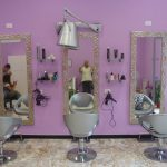 cornice argento specchiera negozio genova
